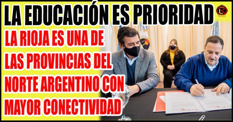 El Ministro Ariel Martínez avanzó en la Digitalización del sistema educativo