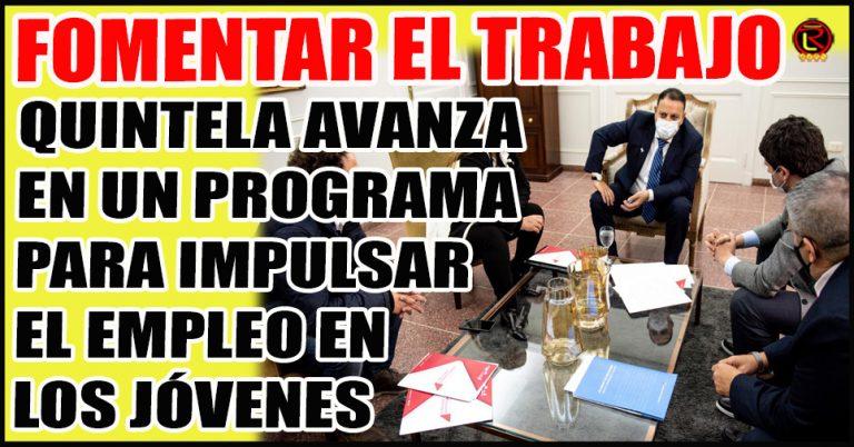 El Gobernador recibió a Federico Bazán y Betty Tello