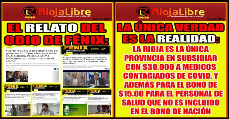 Revista Semanal: Así te miente Radio Fénix…