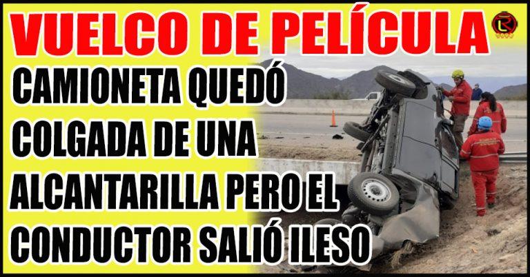 Pudo ser una tragedia: autopista Nonogasta-Chilecito