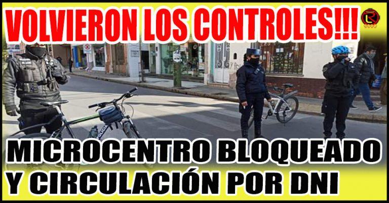 La Policía volvió a tomar el control de las Calles de la Ciudad