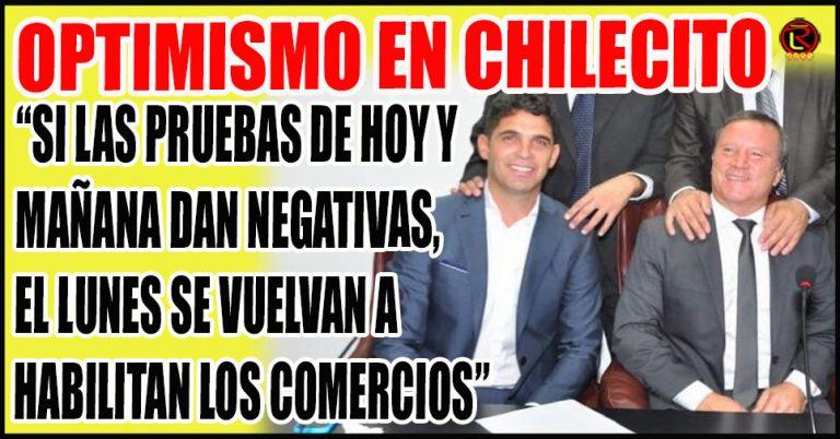 Compromiso del Intendente Rodrigo Brizuela y Doria con los Comerciantes