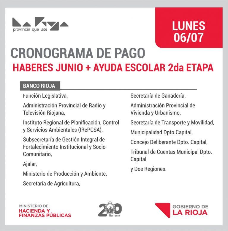 Pago del Viernes : Municipio Capital, AJALAR, Producción, Transporte, Ganadería y 14 Organismos más