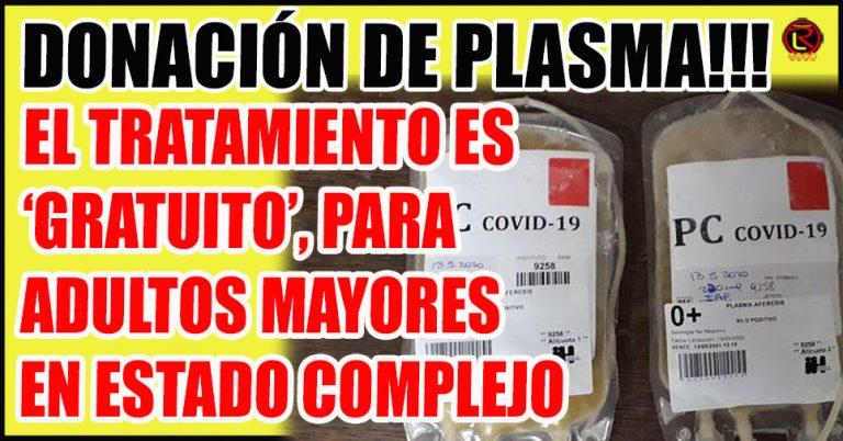 En el Hospital Vera Barros ya se puede donar Plasma